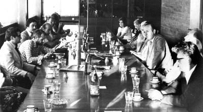Veliki stvaraoci gosti Politike - 3. 7. 1976.