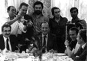 Redakcija slavi u Vranjskoj banji - 2. 6. 1980.